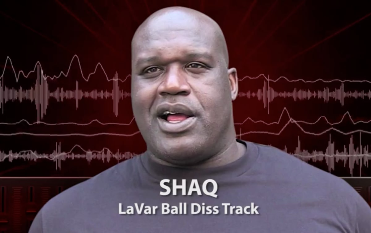 Shaq releases lavar ball diss track complex malvernweather Image collections