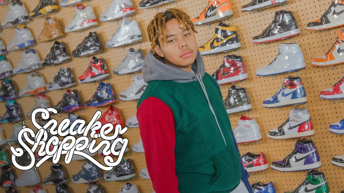 122c42ed8c7 YBN Cordae Goes Sneaker Shopping With Complex