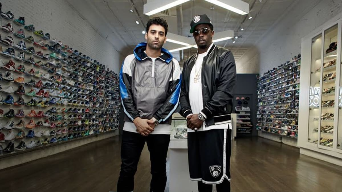 sneaker shopping with sean diddy combs