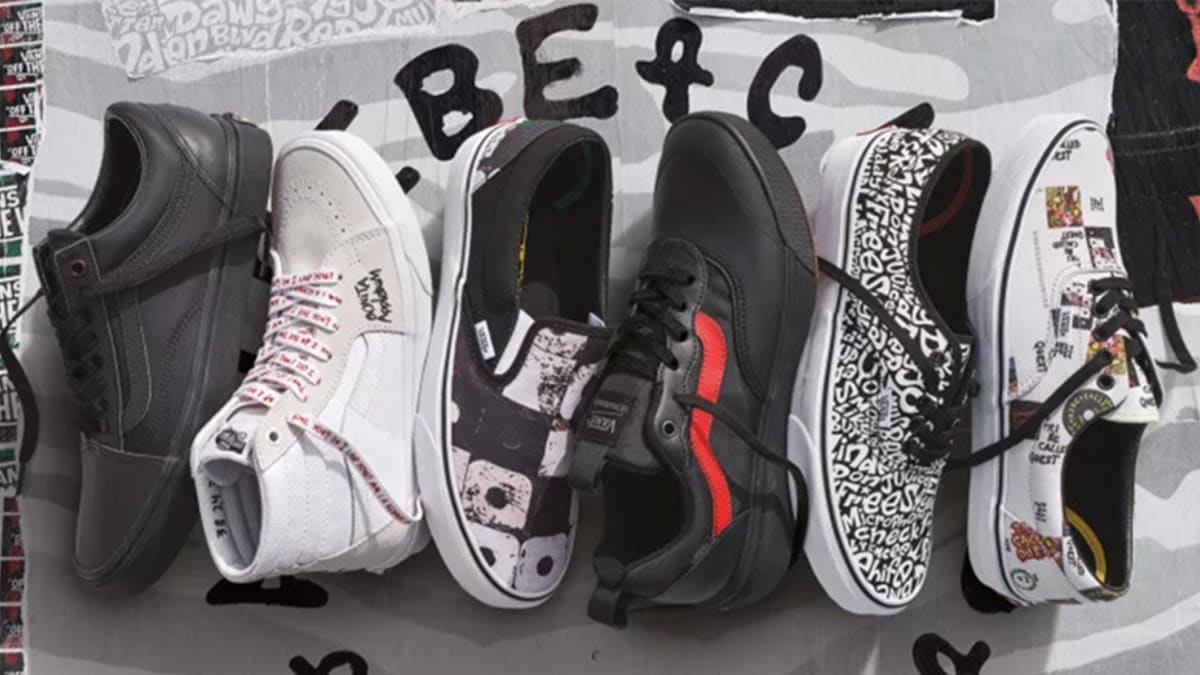 bbc37481554304 Vans Connects with A Tribe Called Quest for an Exclusive Footwear Project