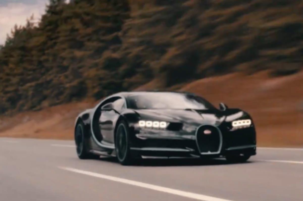 Watch A Bugatti Chiron Go From Zero To  Mph And Back To Zero In Record Time Complex