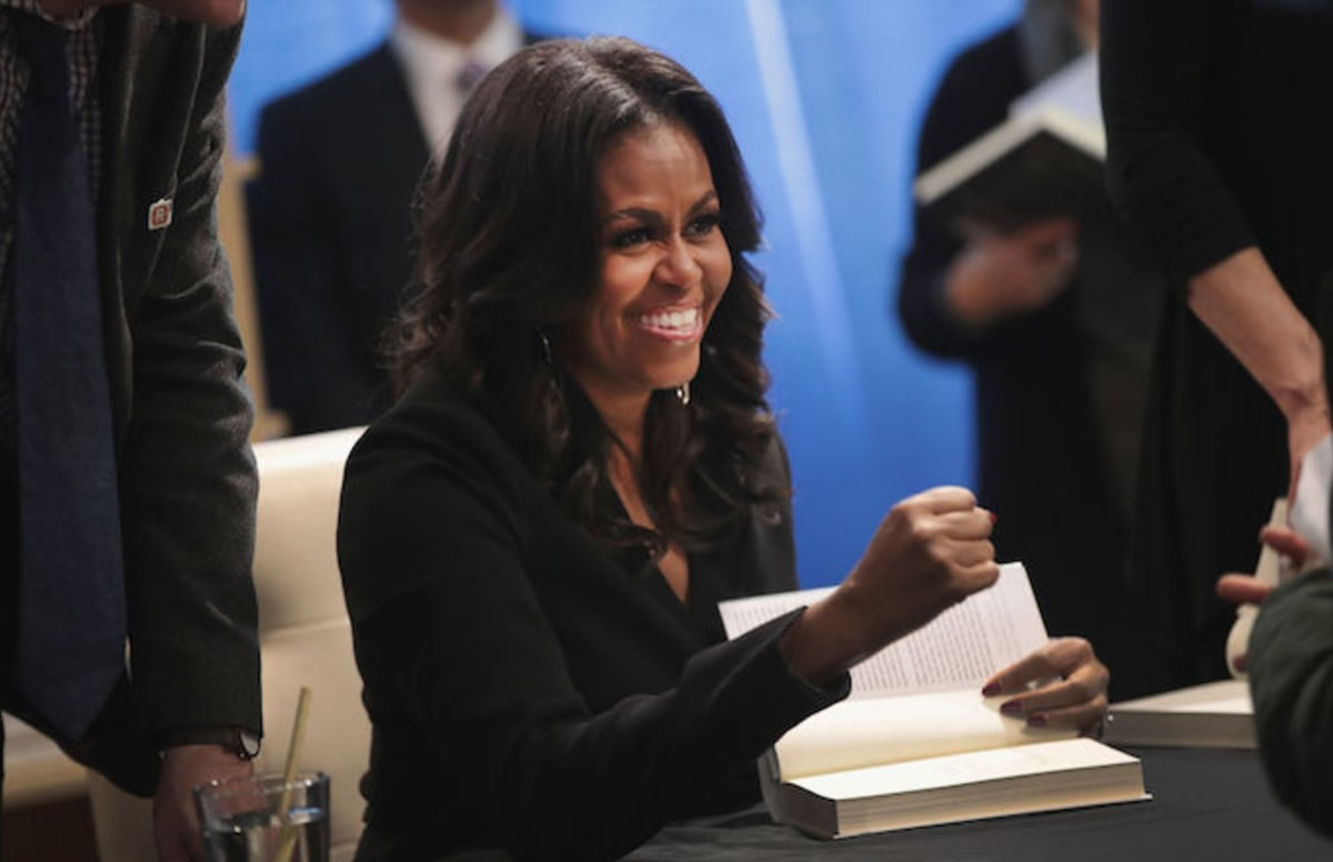 Ellen Degeneres Trolls Michelle Obama During Book Signing at Costco