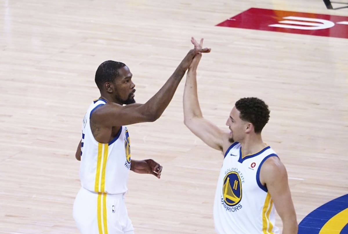 f1ddfe7624df Klay Thompson on If He ll Make a TV Cameo Like Kevin Durant Did on  Billions
