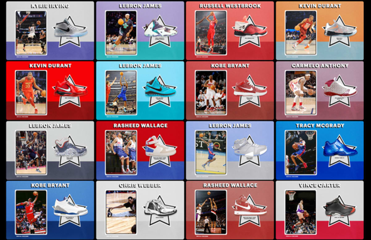 The Best Sneakers in the NBA All-Star Game, Every Year Since 1988