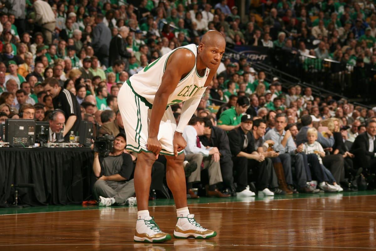 big sale fec43 57640 Ray Allen Tells Us It s All Love Between Him and His Old Celtics Teammates