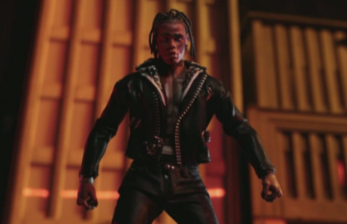 Travi Scott S Action Figure Gets Down And Dirty In His