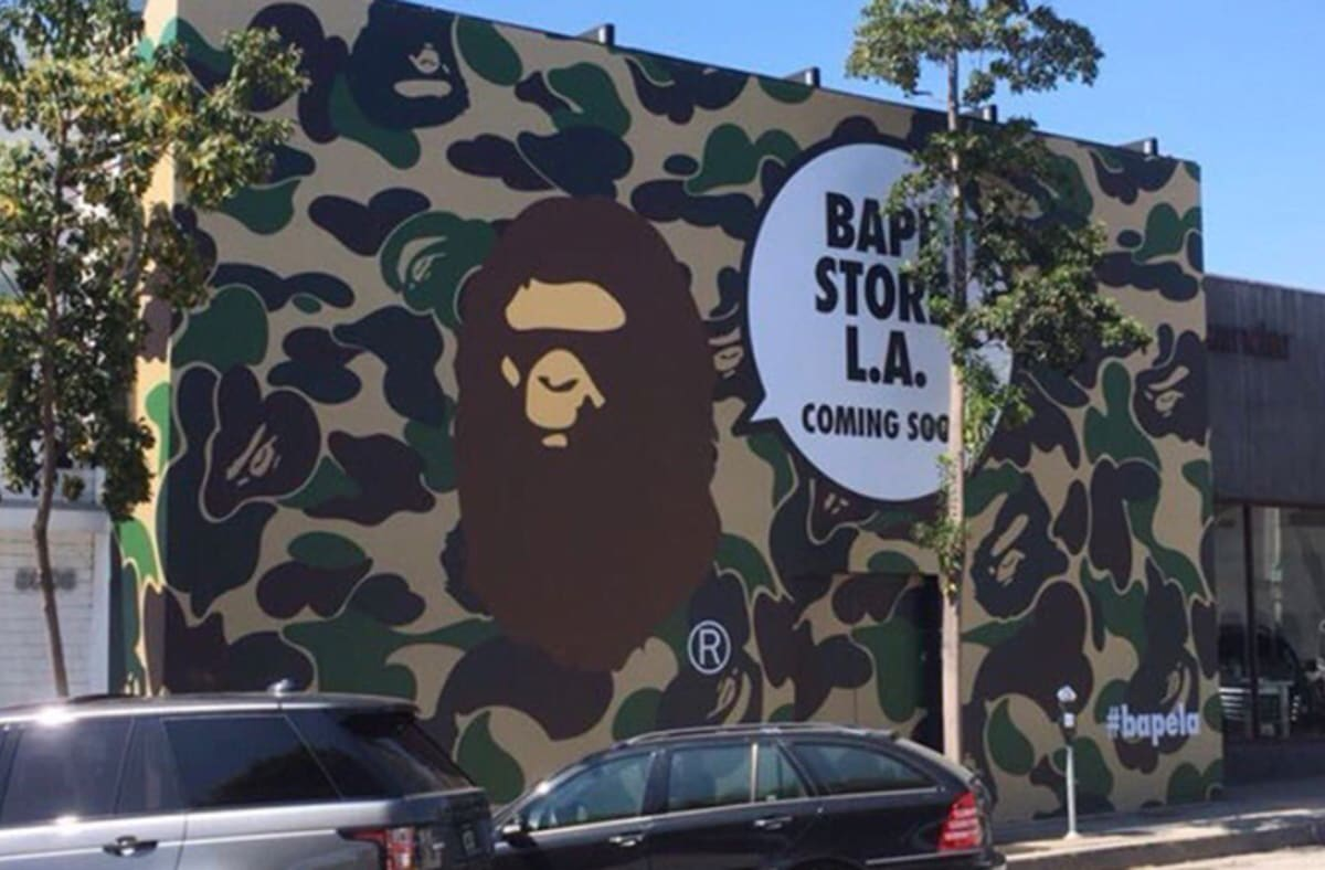 098092802b8e A Bathing Ape to Reopen Store in Los Angeles