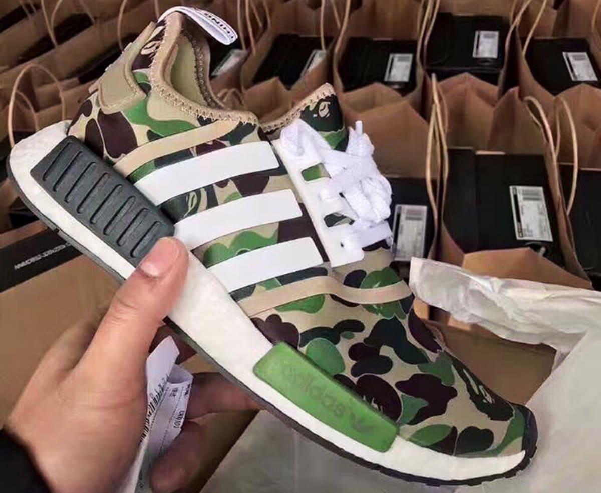 Adidas NMD XR 1 Duck Camo Black Friday BA 7231 Sneaker Bar
