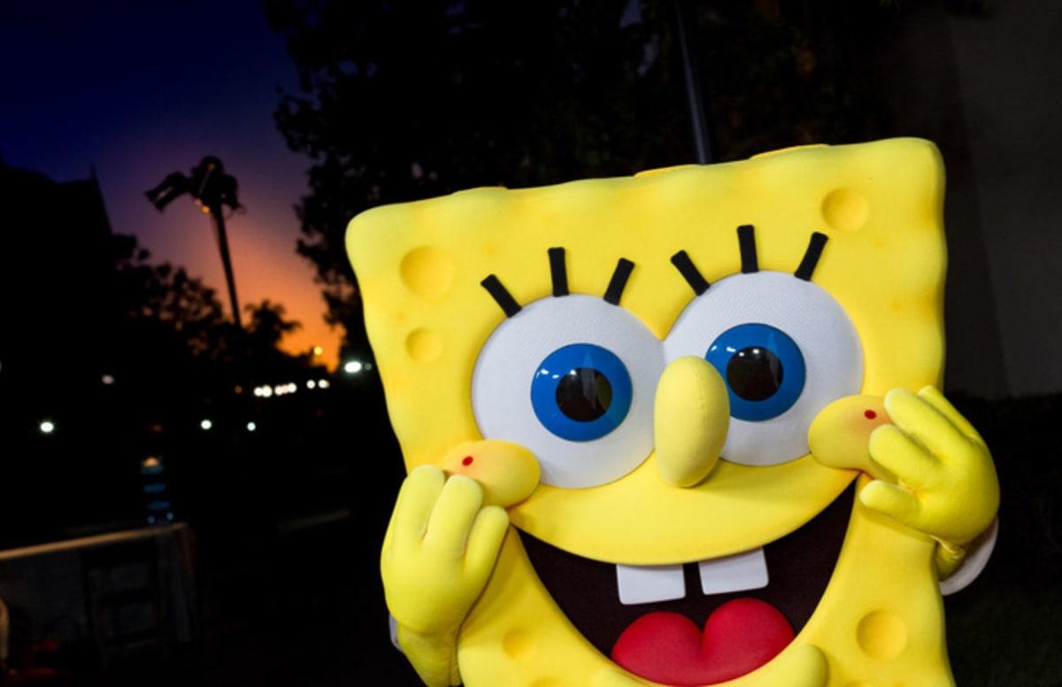 The latest spongebob meme features the krusty krab vs chum bucket rivalry