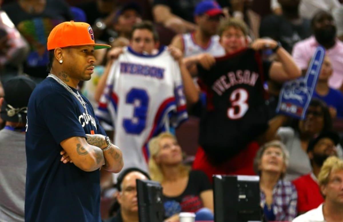 e3d70c7bdb7158 Allen Iverson Didn t Play During Big3 s Stop in Philadelphia