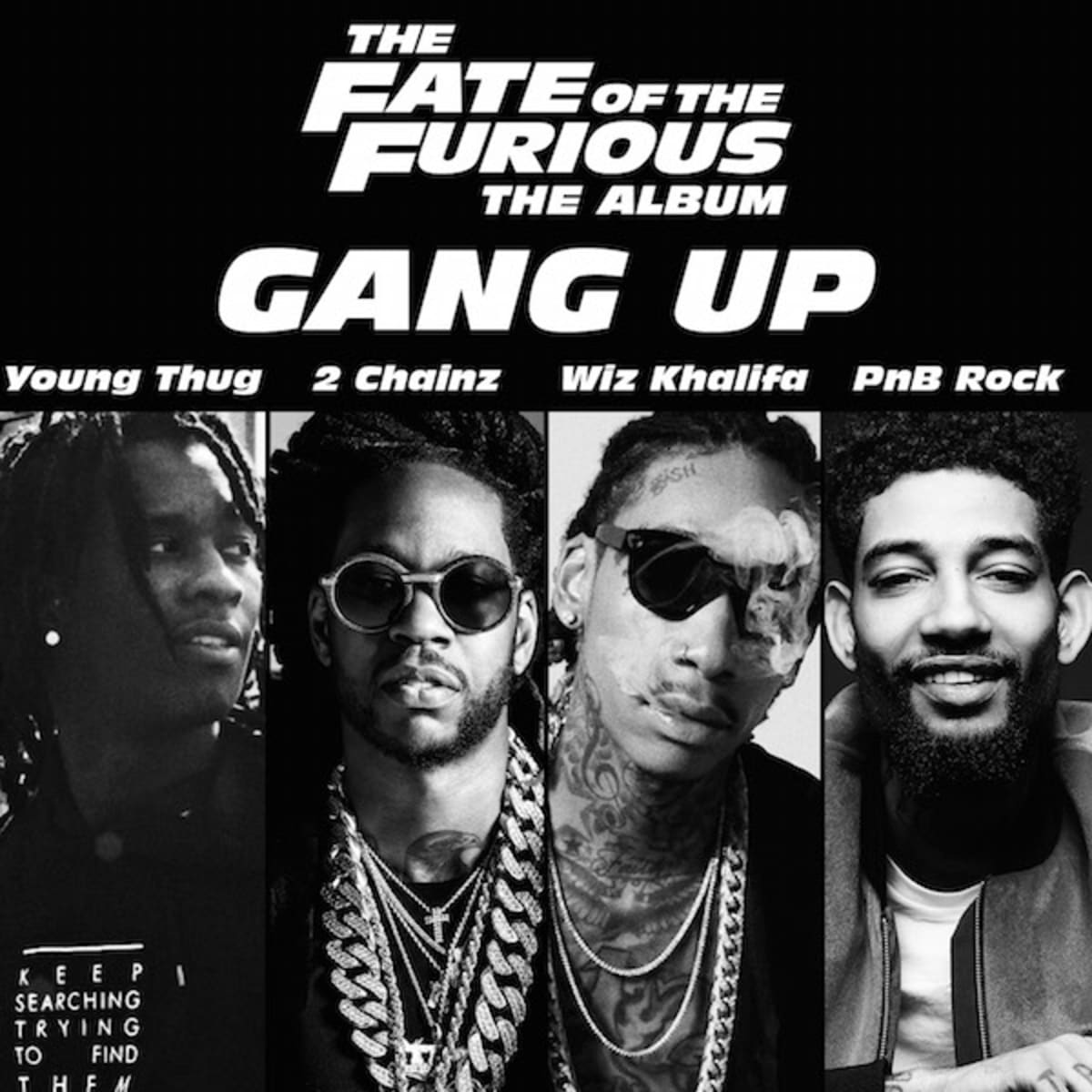 Download Lagu Young Thug, 2 Chainz, Wiz Khalifa & PnB Rock – Gang Up Mp3