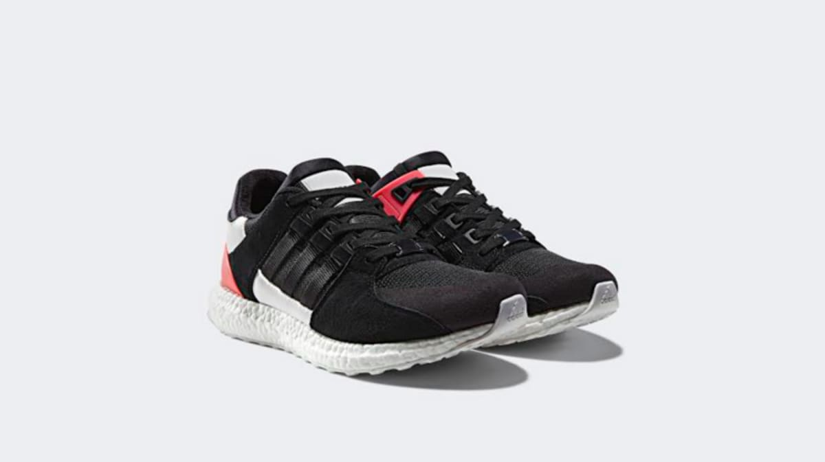 Adidas Men EQT Support ADV gray clear grey bold orange footwear
