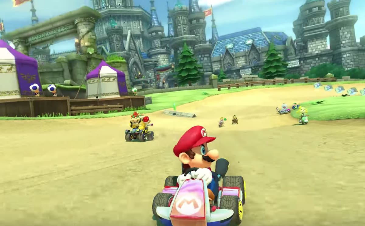everything you need to know about 39 mario kart 8 deluxe 39 for nintendo switch complex. Black Bedroom Furniture Sets. Home Design Ideas