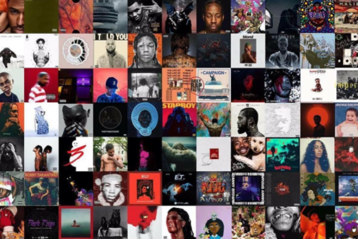 Here Are the First Week Album Numbers in 2016
