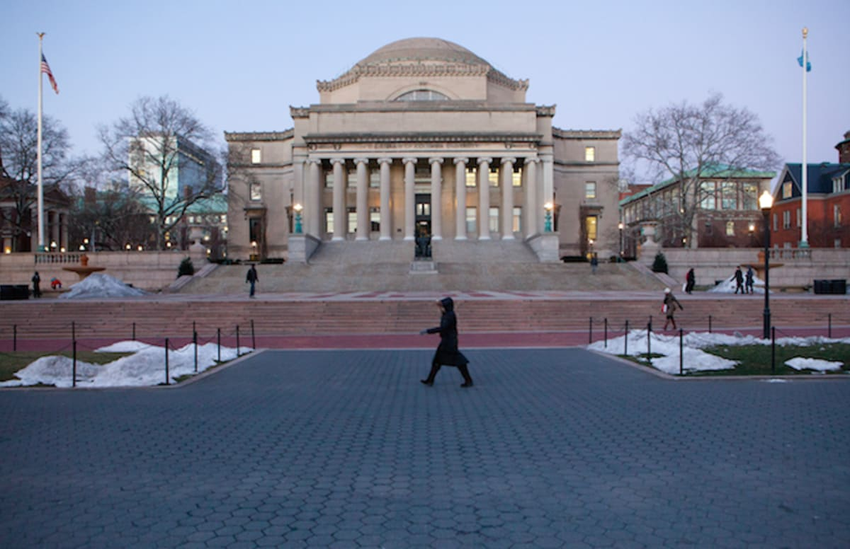 Columbia University Denounces Student's Racist Tirade