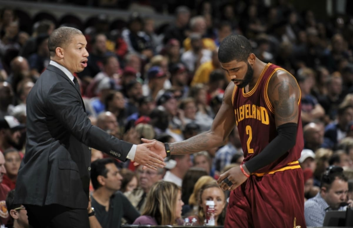 ceb6e4fc43e5 This Tense Kyrie Irving Exchange With Tyronn Lue Last Season Sums Up His  Exit