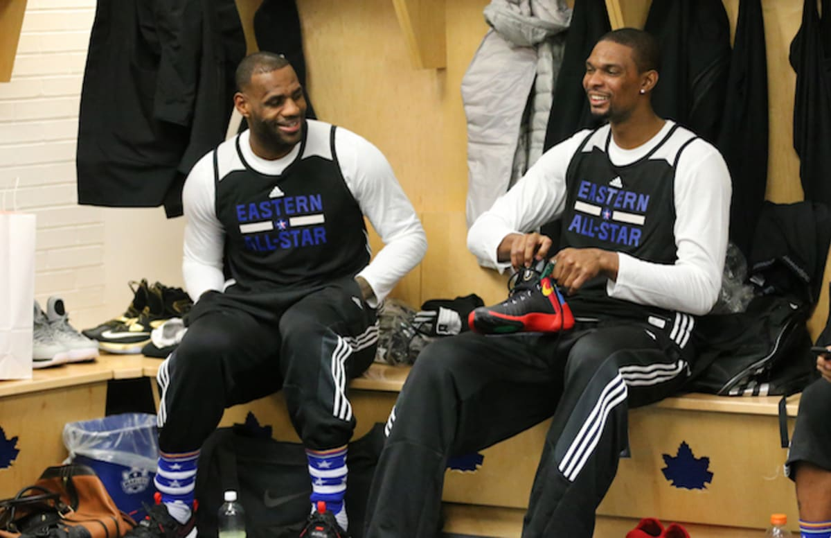 7071a5e1ca2d Chris Bosh Thinks LeBron James Will Join the Houston Rockets This Summer