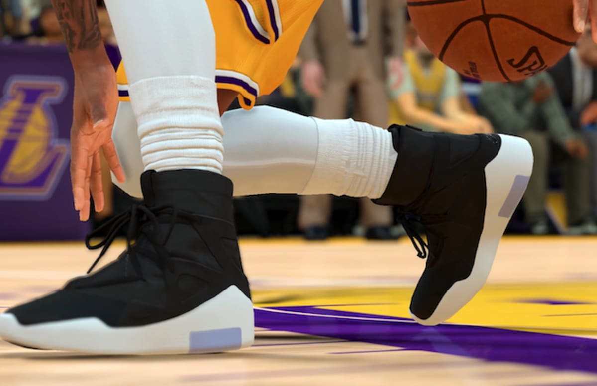 Watch Jerry Lorenzo Sport The Nike Air Fear Of God 1 In Nba 2k19 Clip Complex