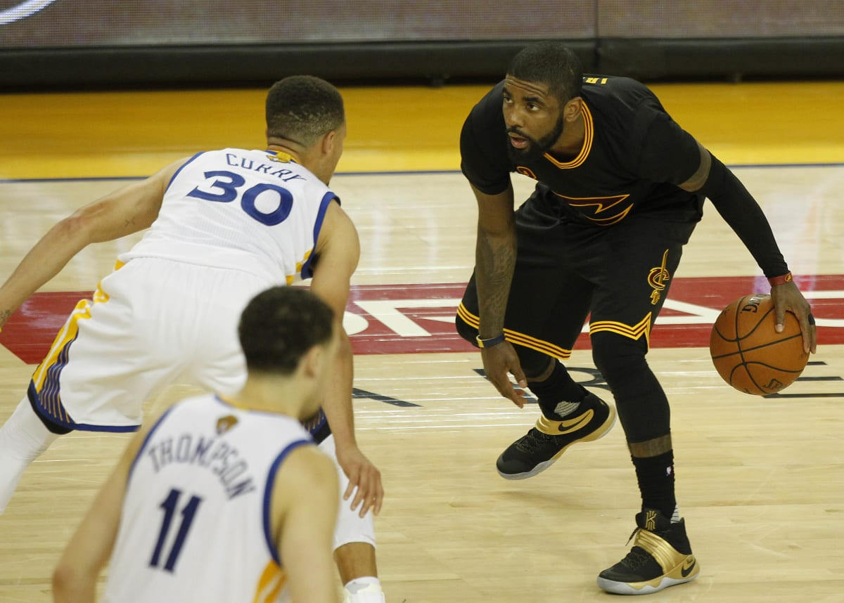 Kyrie Irving Answers His ESPN Haters, Puts Warriors-Cavs Rivalry in  Perspective | Complex