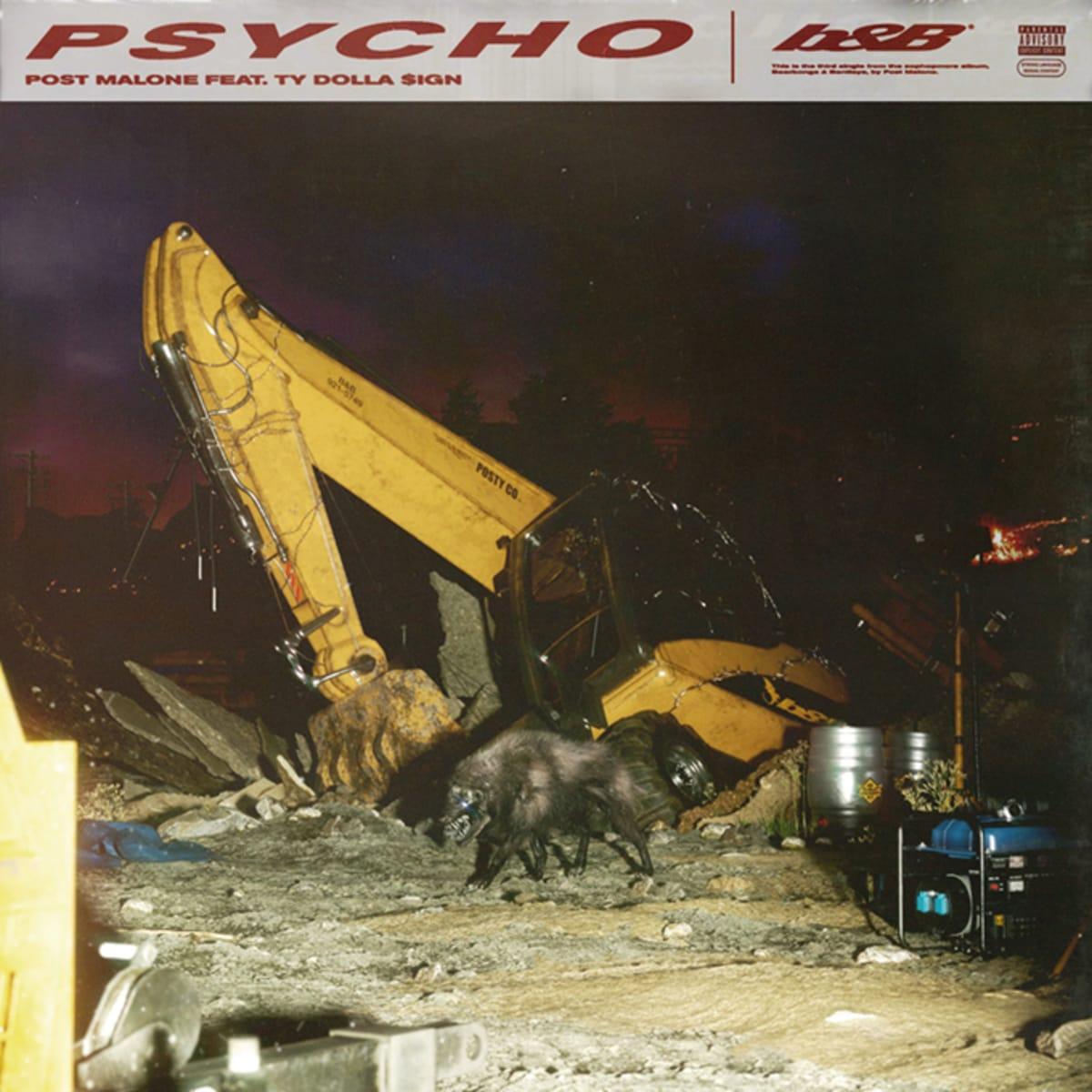 """Post Malone Album Cover: Post Malone Drops New Single """"Psycho"""" F/ Ty Dolla Sign"""