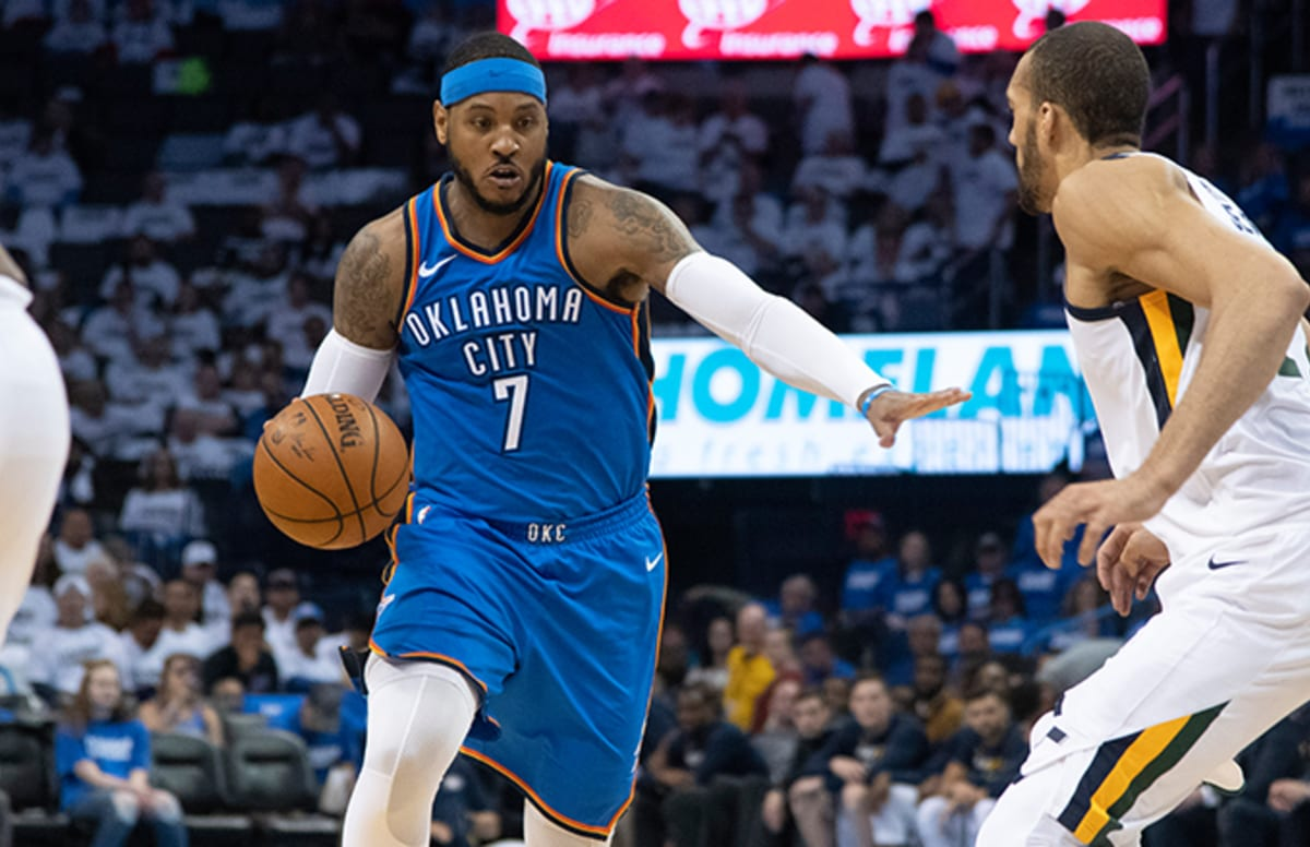dec94269eb8f Carmelo Anthony Reportedly Set to Sign With Houston Rockets