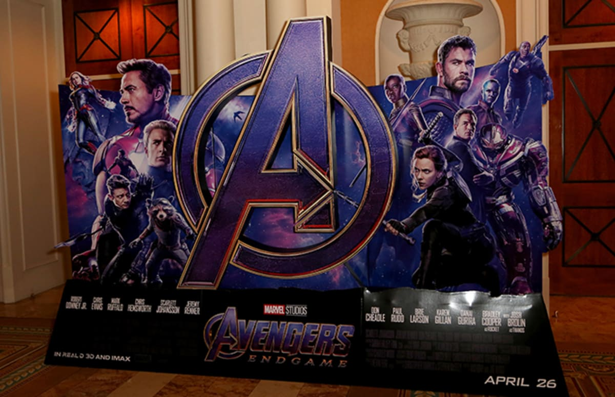 opening night fan event avengers endgame at an amc - HD 1200×776