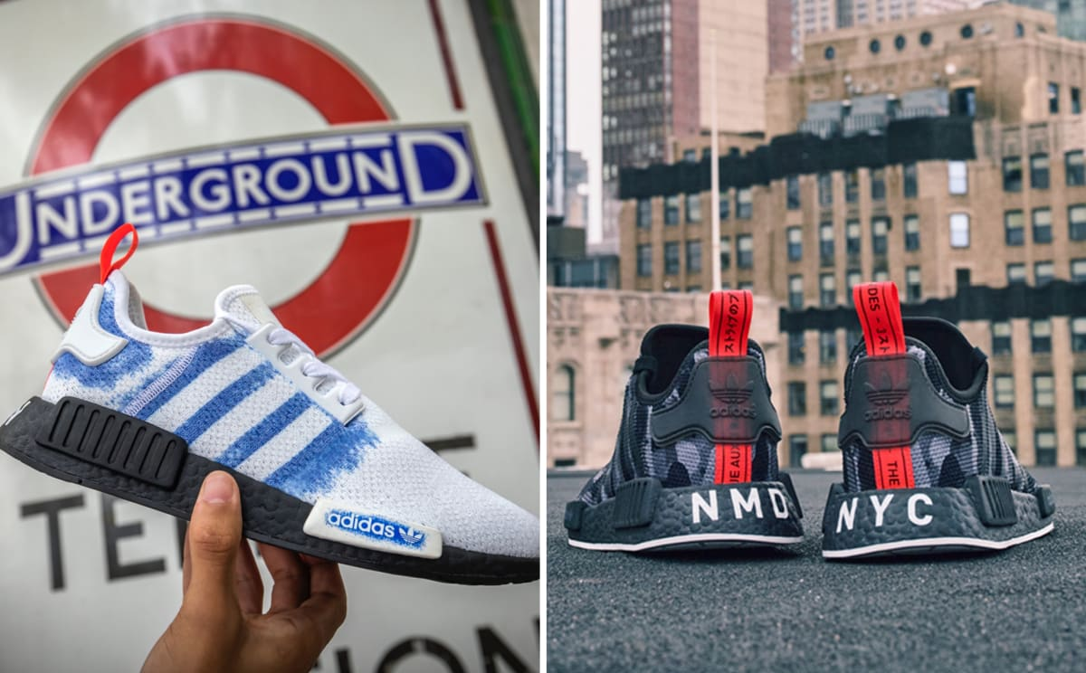 e9f6c19bc7a46 adidas and Foot Locker Europe Combine for the NMD  Printed Series  Inspired  by London and NYC