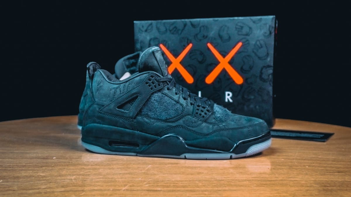 31ae76d14e45b7 LifeAtComplex  A Look At The Air Jordan 4 KAWS Friends   Family ...