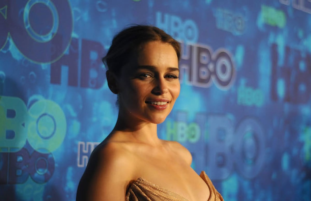 Emilia Clarke is tired of hearing people say all the porn