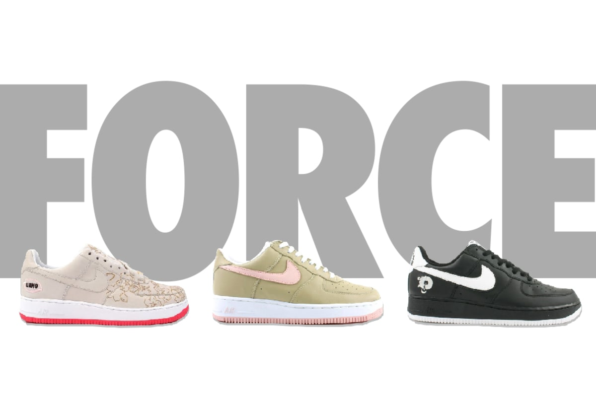 big sale 75f73 81c0f The 21 Best Nike Air Force 1s of the 21st Century