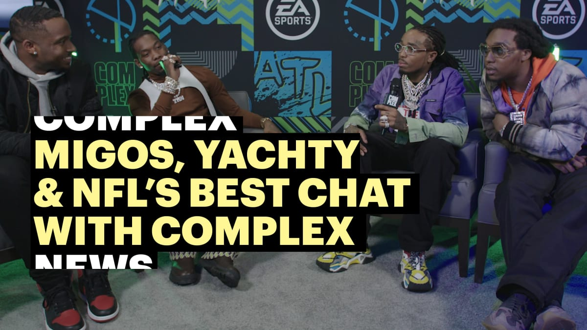 Migos, Lil Yachty, and NFL's Best Chat With Complex at EA Sports Bowl