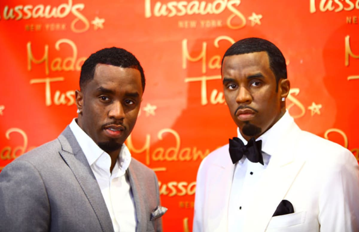 Diddy Figure at Madame Tussauds Decapitated After Vandal Knocks it Over