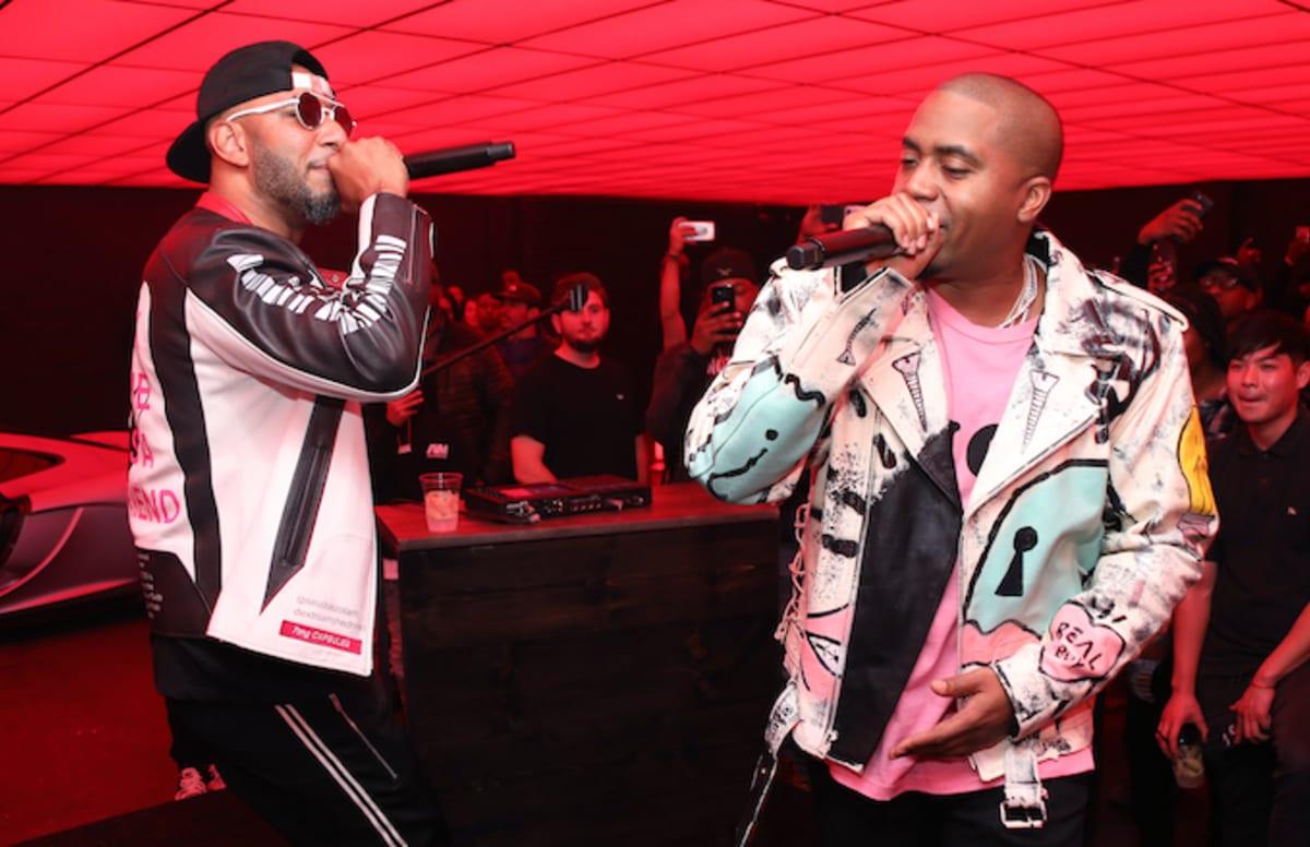 "Swizz Beatz Drops Off the Music Video for ""Echo"" f/ Nas"