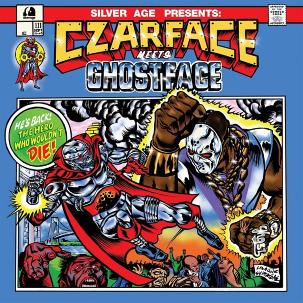 Czarface Drop Ghostface Killah Collab Album 'Czarface Meets Ghostface'