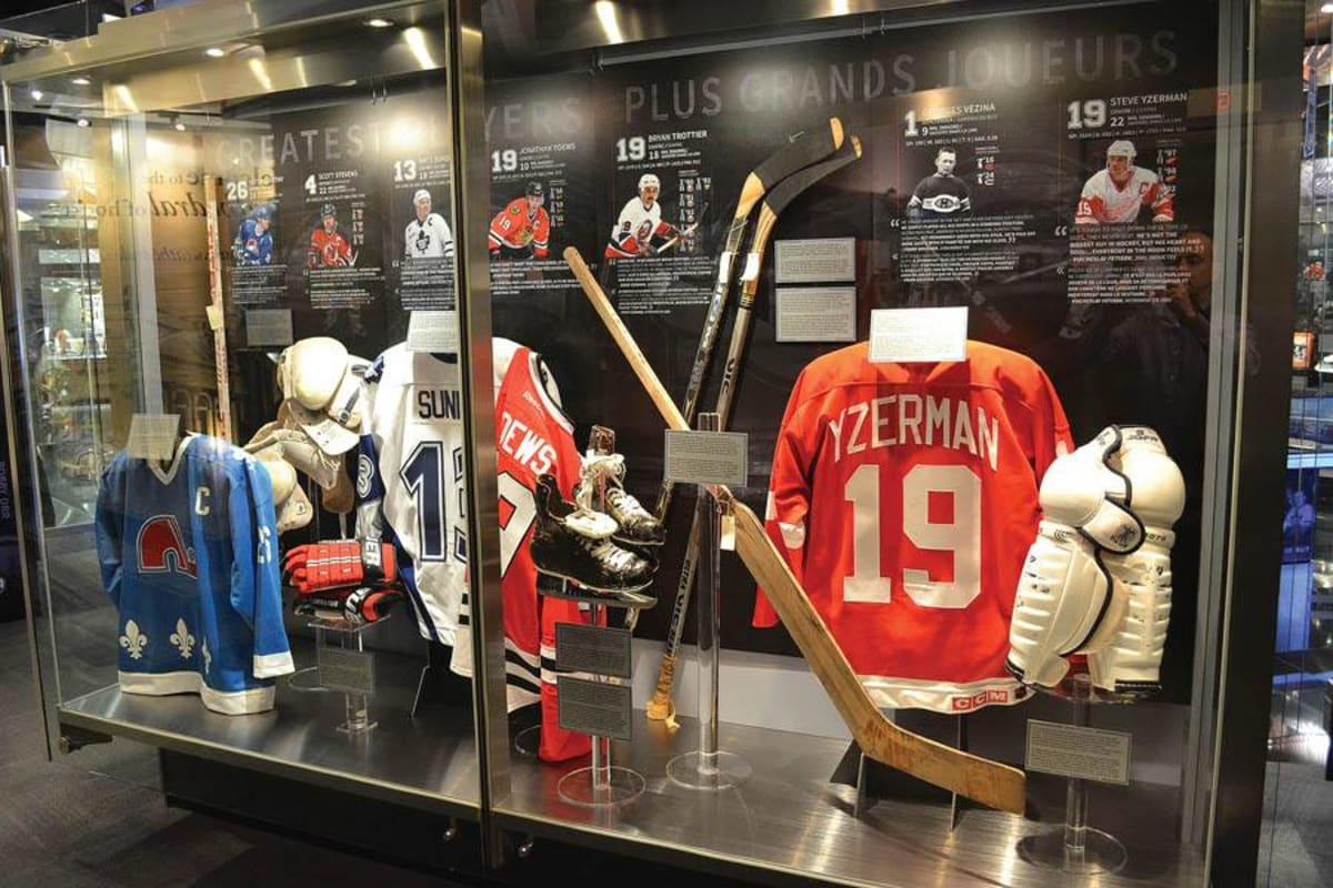 The Hockey Hall Of Fame Celebrates 100 Years Of The Nhl
