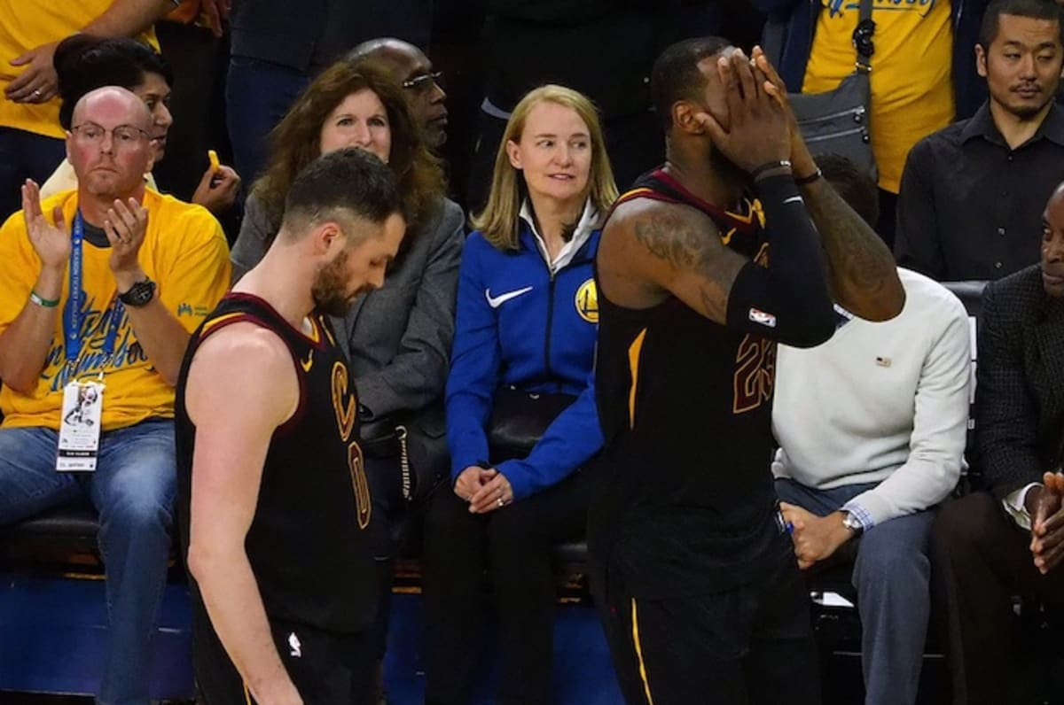 LeBron Was Devastated to Learn Cavs Still Had a Timeout in Game 1 ... 91920e185