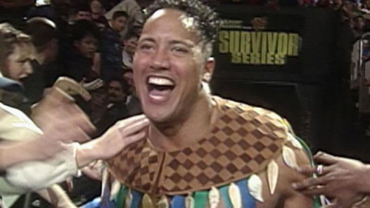 "Rocky Maivia The Rock Wasn't ""..."