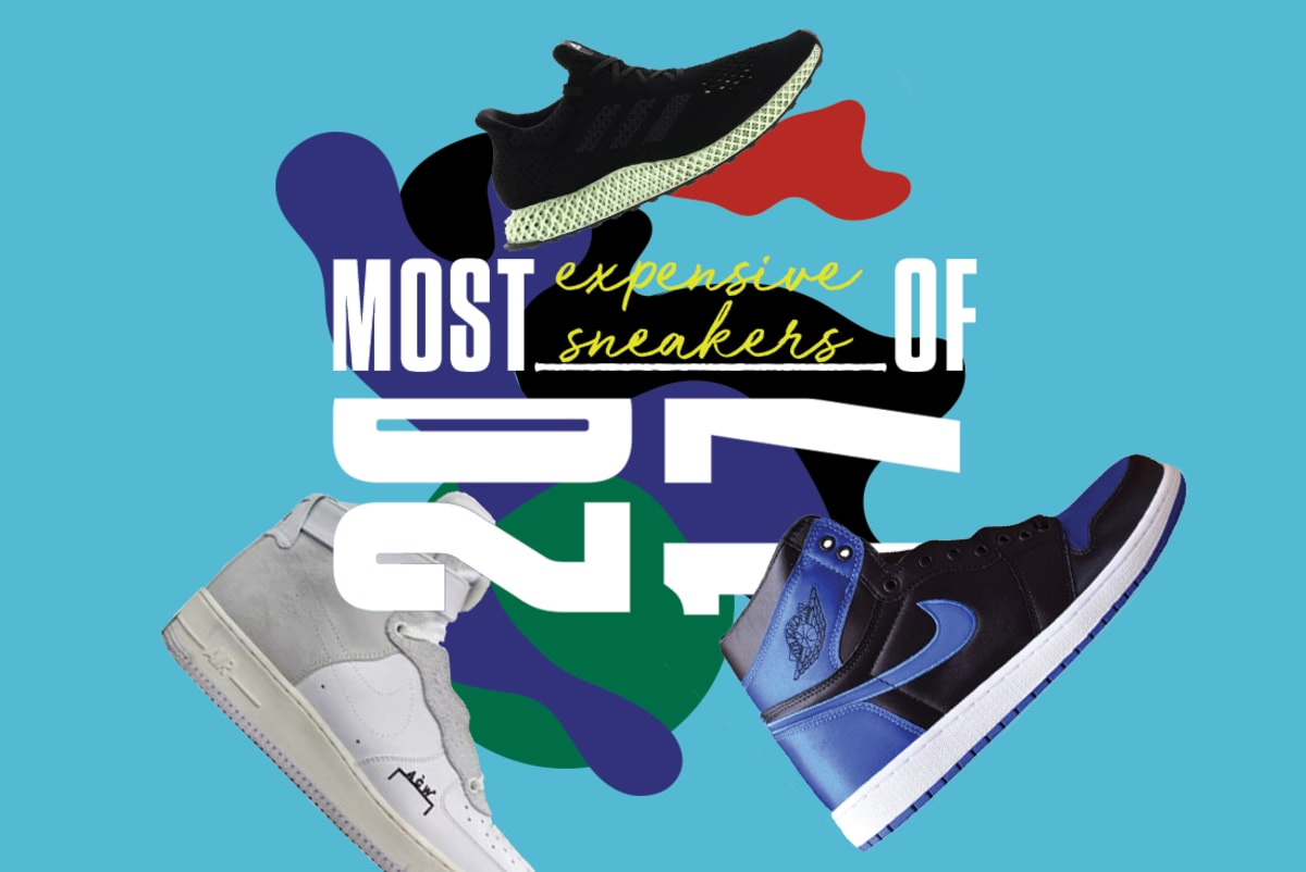 6152f679342 The 10 Most Expensive Sneakers of 2017