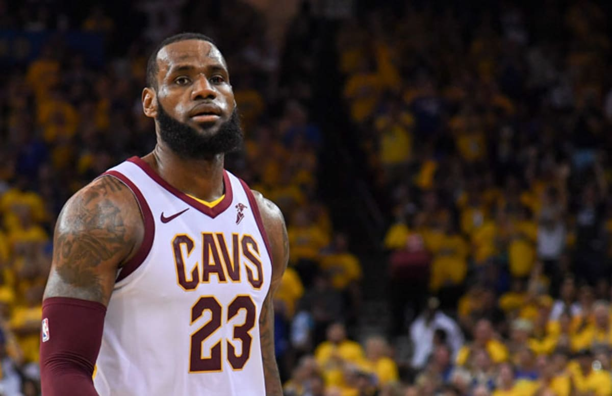 ba589f7184b LeBron James on His  NBA 2K19  Rating   Not Bad for an Old Head ...