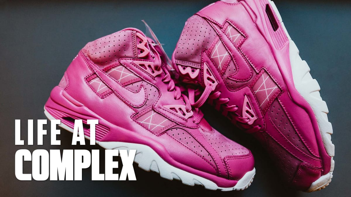 47685cf7a96bc Exclusive Nike Breast Cancer Sneakers Revealed