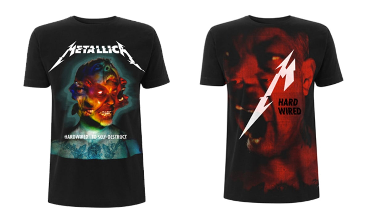 Metallica Reminds Everyone Why It's the King of Merch