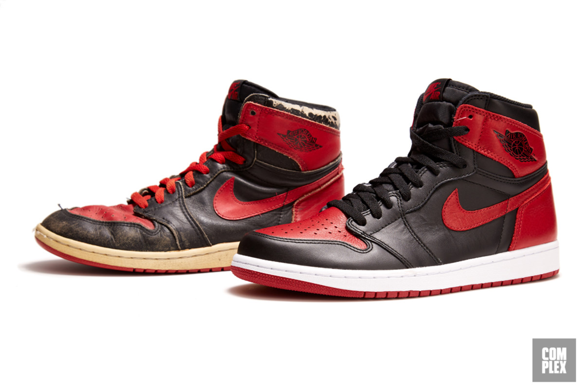 The Evolution of the Black and Red Air Jordan 1, the Sneaker