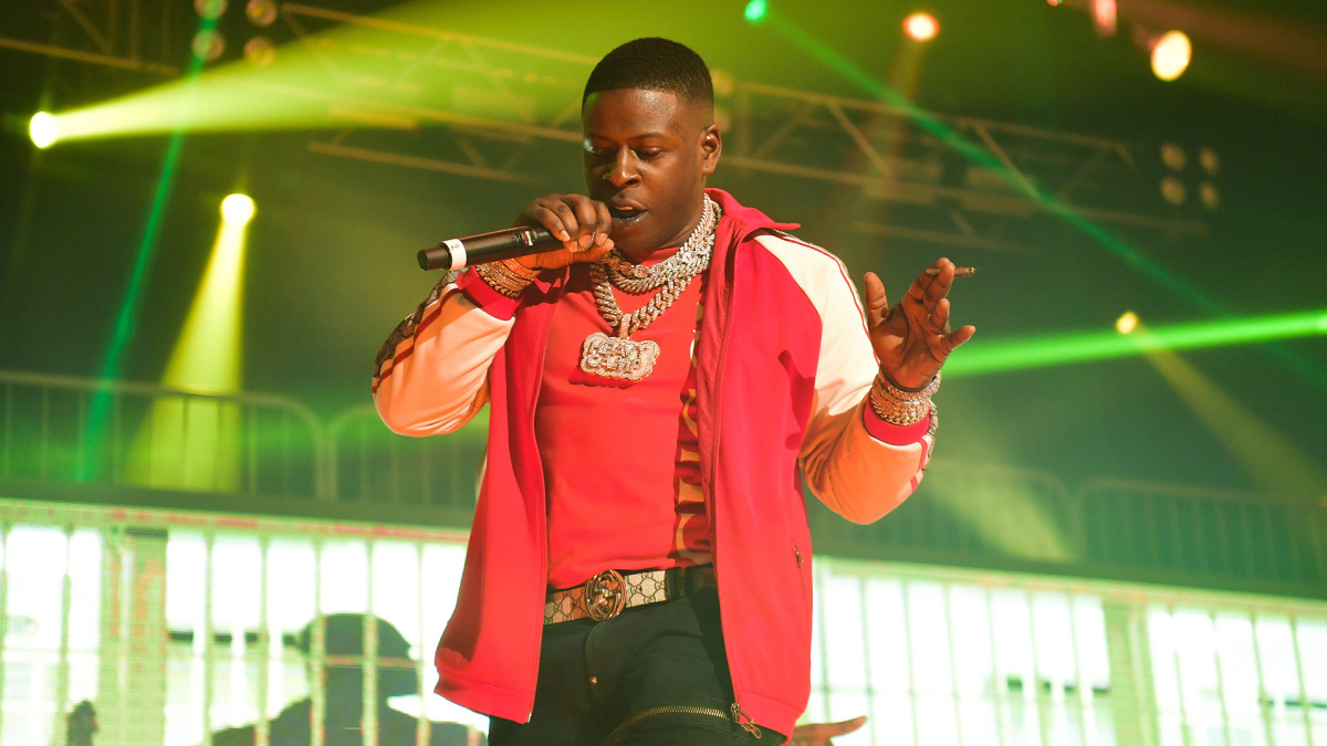 Blac Youngsta Pulls Gun Out Onstage After Crowd Gets Heated