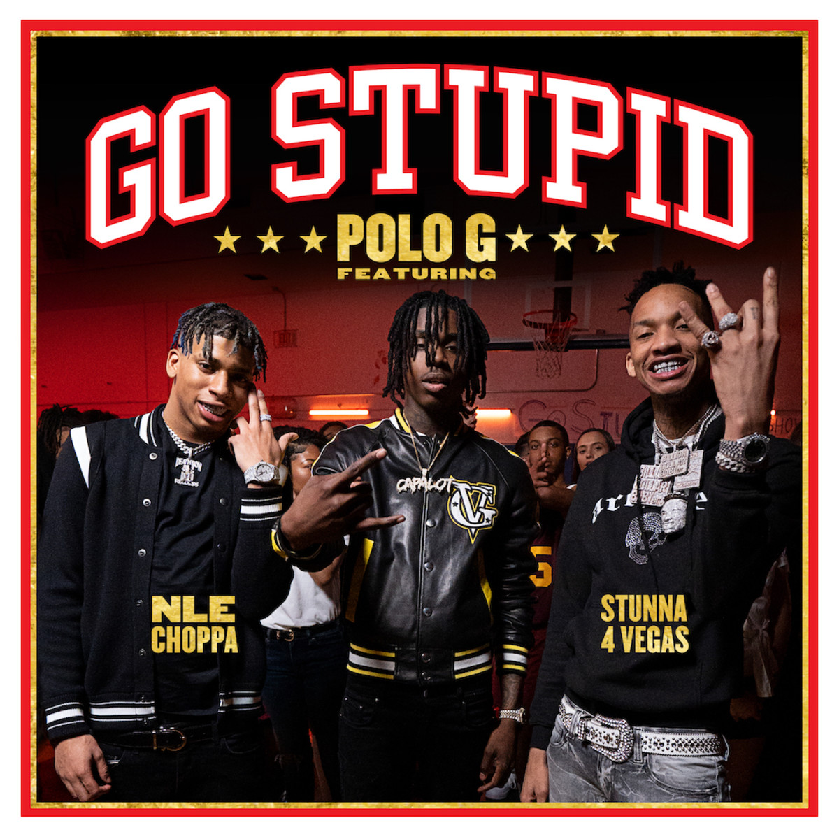 """Watch Polo G's New Video for """"Go Stupid"""" f/ NLE Choppa and Stunna 4 Vegas"""