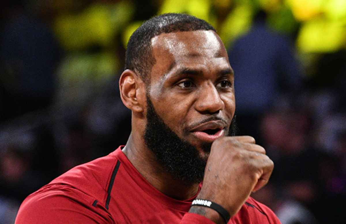 LeBron James Can't Believe People Are Hating on Eminem's 'Kamikaze'