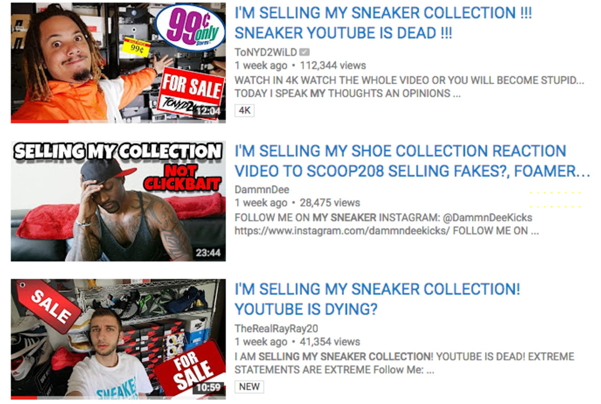 Views: How Sneaker YouTube Became Obsessed With Clickbait
