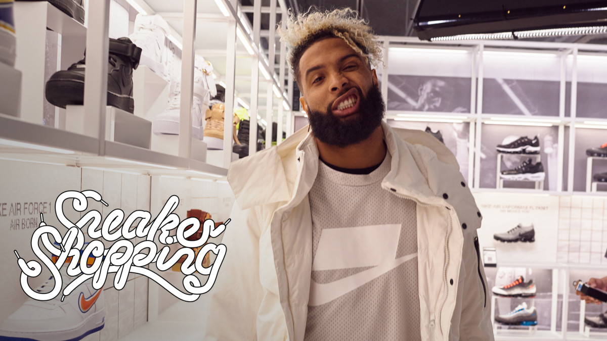 sale retailer b4962 a8fb2 Odell Beckham Jr. Goes Sneaker Shopping With Complex | Sneaker Shopping