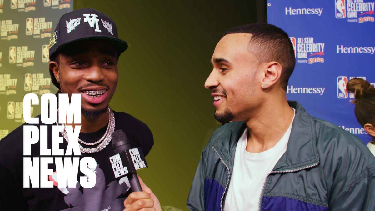 Quavo On Culture 3 Release, Bad Bunny on Collabing with Drake & Anthony Davis on Lakers Winning NBA Championship