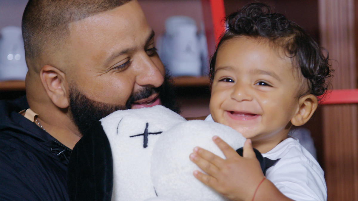 60adbccc88a DJ Khaled and Asahd Khaled Show Off Their Sneaker Collections on Complex  Closets | Complex