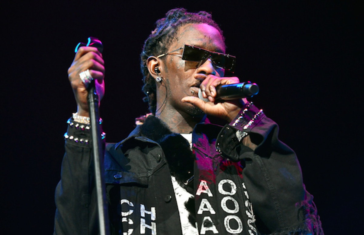 Young Thug Arrested on Drug Charges